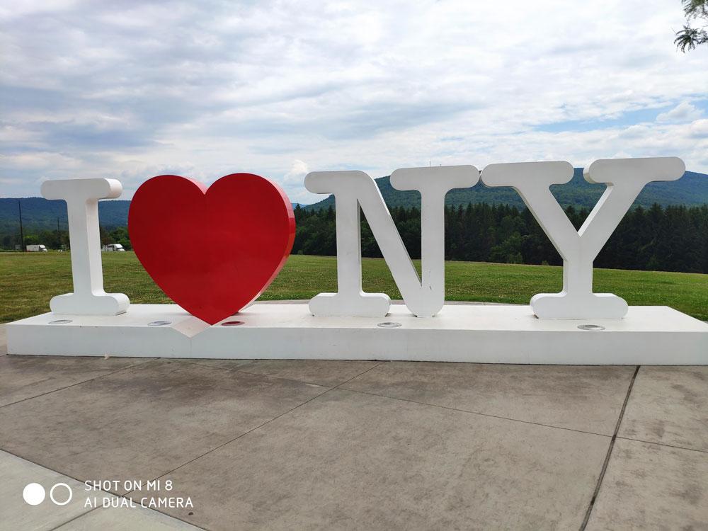 שלט I LOVE NEW YORK