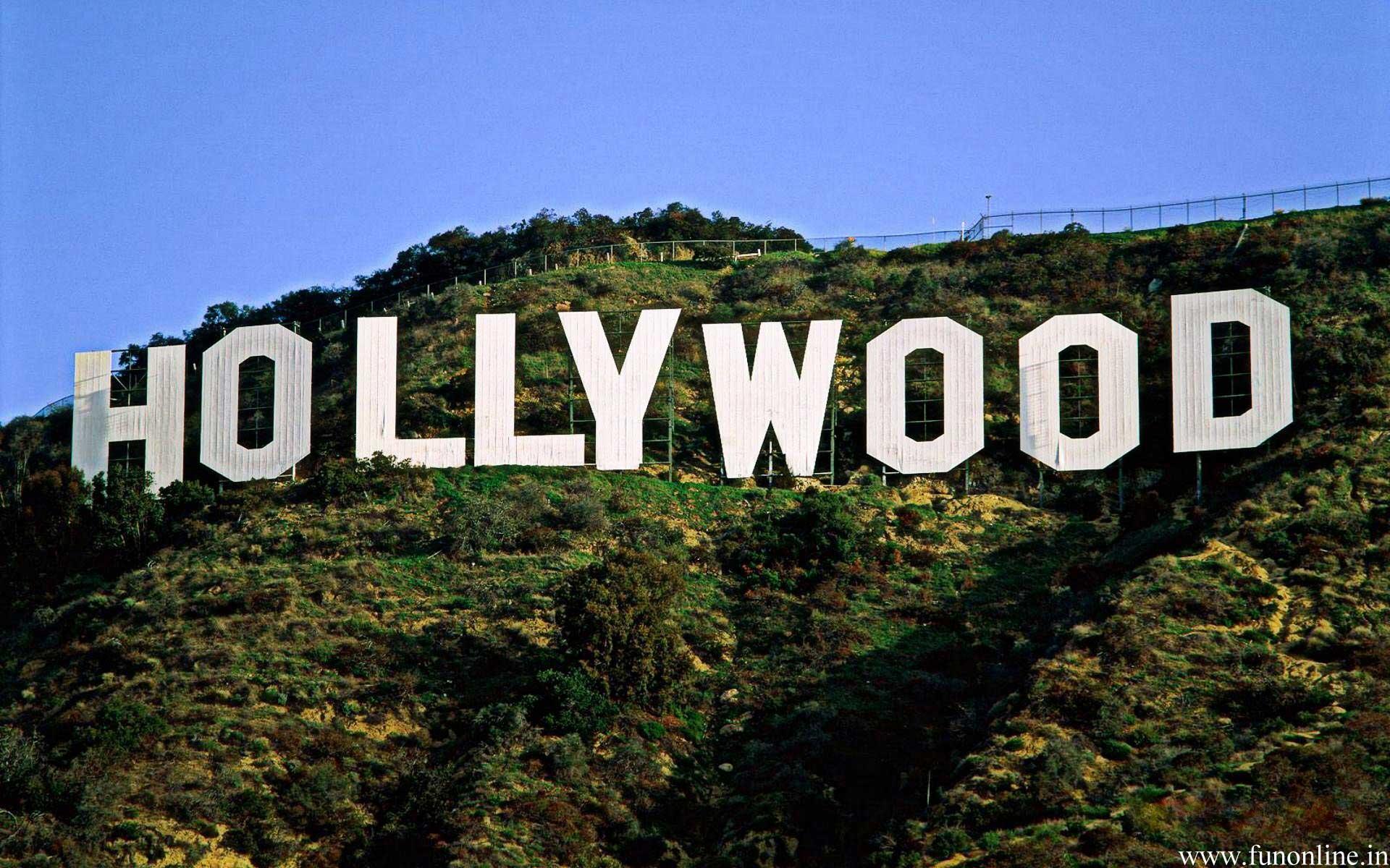 ארצות הברית טיול מחוף לחוף, לוס אנג'לס, שלט הוליווד