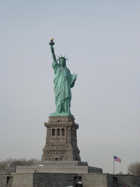 ארצות הברית, ניו יורק, פסל החרות