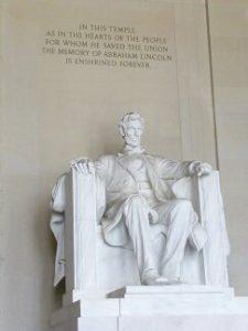ארצות הברית, וושינגטון, פסל לינקולן