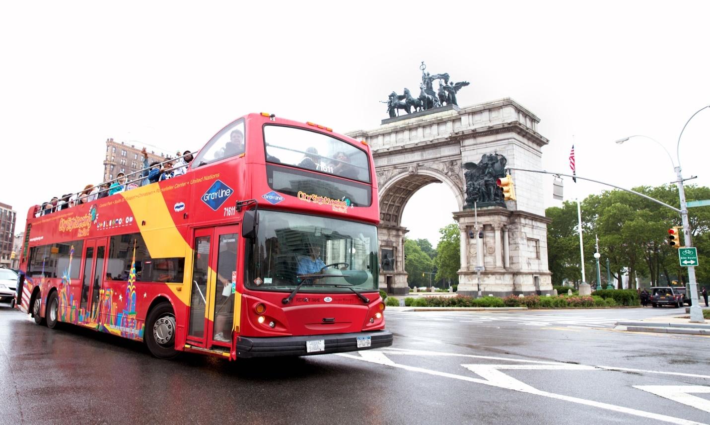 אוטובוס התיירים בניו יורק
