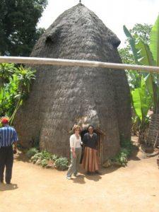 אתיופיה, שבט הדורזה, בית טיפוסי