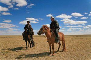 מונגוליה, רוכבים במדבר גובי