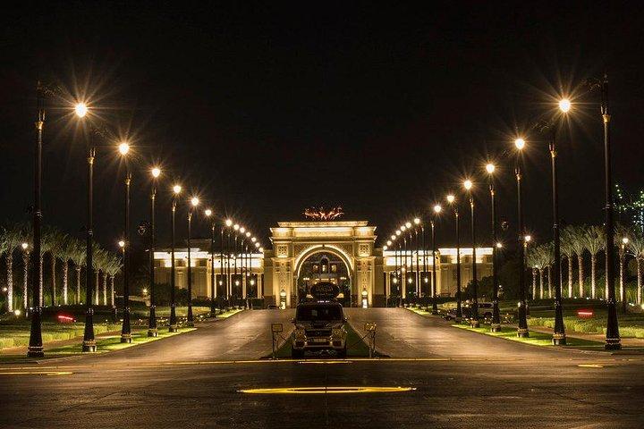 טיול לאבו דאבי ארמון המלך
