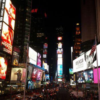 """ארה""""ב, ניו יורק, כיכר הטיימס"""